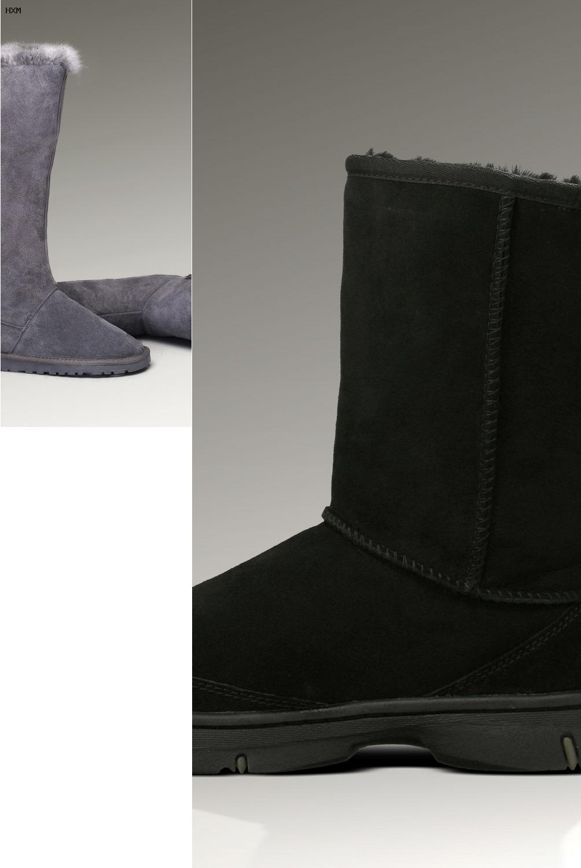 botas de piel ugg mujer