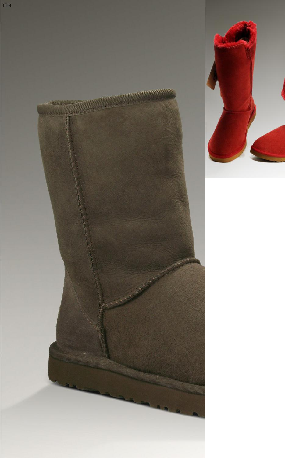 botas ugg color camel