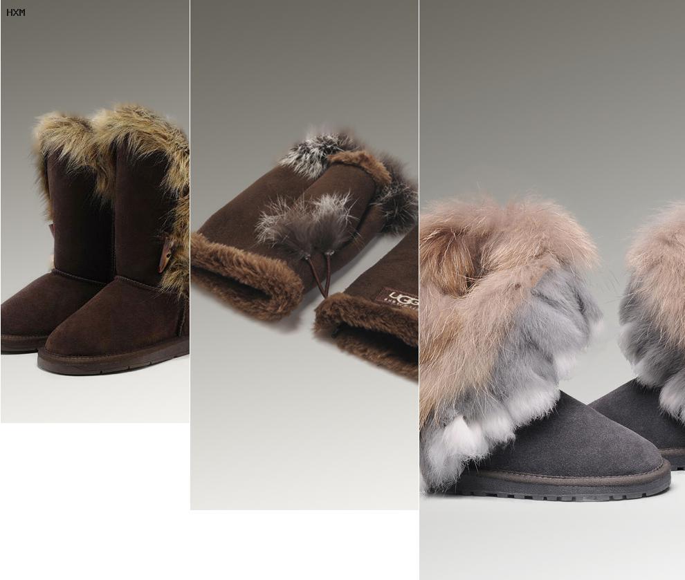 botas ugg para nieve y lluvia