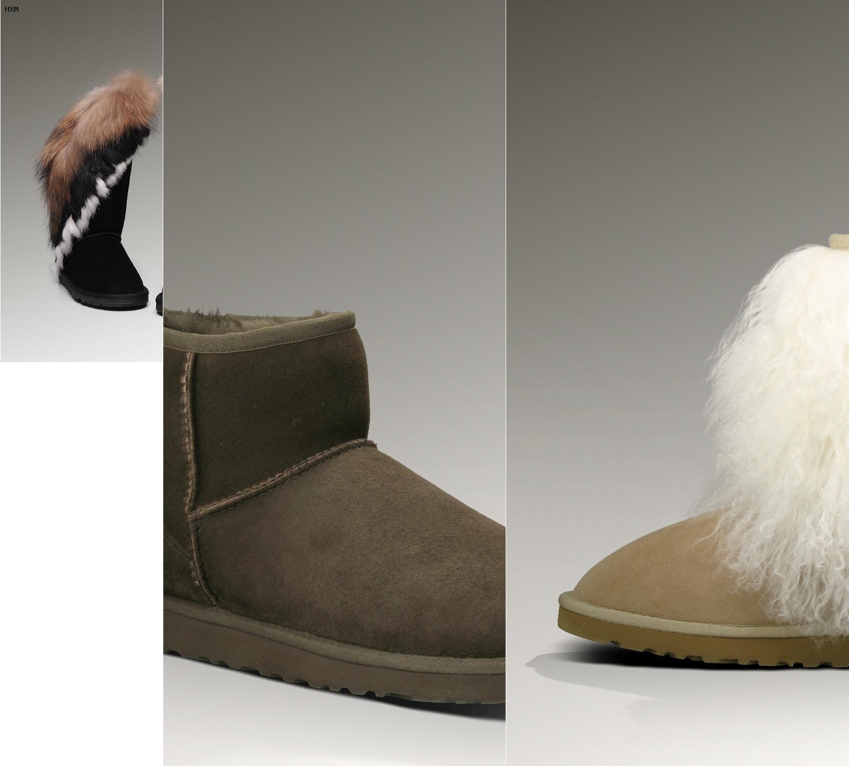 las botas ugg sirven para la nieve