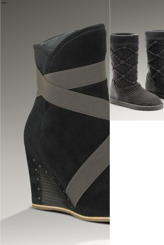 ugg botas grises