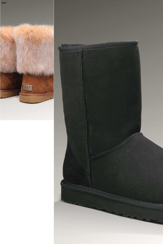 ugg botas mujer negras