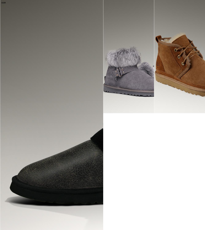 ugg sandalias negras
